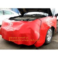 Buy cheap good quality magnetic fender cover car wing protector, Protection of vehicles synthetic leather PU car wing covers for c from wholesalers