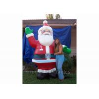 Buy cheap Giant Inflatable Cartoon Characters / Inflatable Santa Claus for Christmas from wholesalers