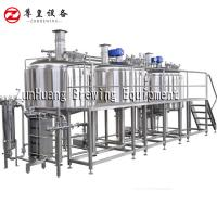Buy cheap 1000L - 2000L Commercial Beer Brewing Equipment For Micro Brewery And Beer Factory from wholesalers
