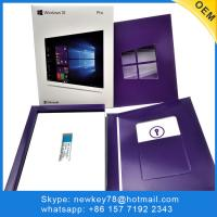 Buy cheap FPP Best Price Microsoft Windows 10 professional COA sticker Multi-language Operating System Software win 10 pro COA from wholesalers