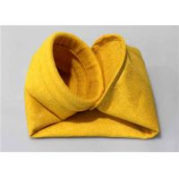 Buy cheap Polyimide P84 Nomex Filter Bag , Felt Dust Collector Bags Flame Retardant from wholesalers