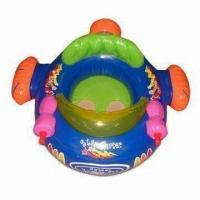 Buy cheap Inflatable Babies' Seat Toy with 0.25mm and 0.3mm PVC Thickness product