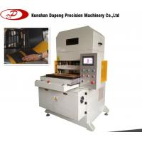 Touch Screen Die Cutting Machine with 4 post and hydraulic driving max cutting force 40 Ton Manufactures