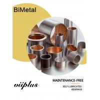 Buy cheap Steel Split Bushes CuPb24Sn4 | Bimetal Oilless Bearings & Vane Pump Bushing For Rough Operation Conditions from wholesalers