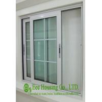 Buy cheap French Type Aluminum Alloy Sliding Windows,gliding type with decoration strip from wholesalers