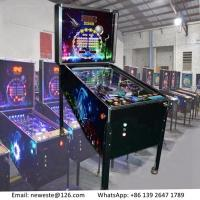 Wholesale 5 Balls, Hot Sale Amusement Equipment Arcade Games Coin Operated Pinball Game Machine from china suppliers
