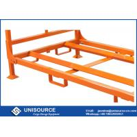 Foldable Stack Truck Tire Rack , Portable Steel Storage Racks For Tire