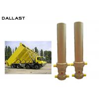 Wholesale 3 / 4 Multi Stage Telescopic Dump Truck Lifting Hydraulic Cylinder from china suppliers