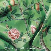 Buy cheap Hand Painted Silk Fabric from wholesalers