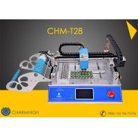 Buy cheap Small Desktop CHMT28 SMT Pick And Place Machine Chip Mounter LED Pick And Place Machine from wholesalers