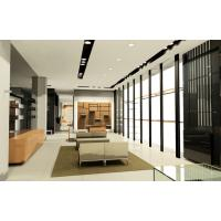 Buy cheap Men's Cloth Store in Modern interior design by wood furniture display counters and wall cabinet from wholesalers