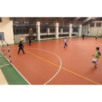 Buy cheap indoor futsal court pvc sports flooring from wholesalers