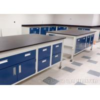 China Customized Color Dental Laboratory Bench Science Furniture For Schools on sale