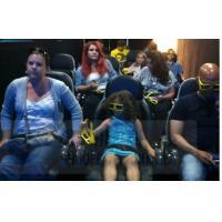 Wholesale 6D Film 6D Movie Theater With Leg Tickle , Vibration , Push Back Function from china suppliers