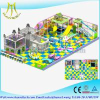 Wholesale Hansel game room equipment indoor play gyms for toddlers plastic castle play house entertainment center crazy toys from china suppliers
