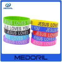 Wholesale Wholesale Durable and Washable cheap silicone wristband bracelet with logo from china suppliers