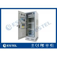 Buy cheap IP65 Thermostatic 19 Equipment Outdoor Telecom Enclosure With Environment Monitoring System from wholesalers