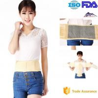 Buy cheap Elastic Cloth Heated Back Brace / Lumbar Support Belt Improve Microcirculation from wholesalers