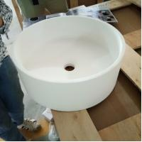 Buy cheap Elegant Look Counter Top Vanity Basins  Stain And Chemical Resistance from wholesalers