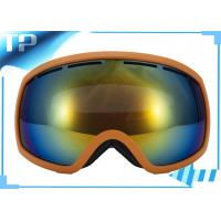 Buy cheap Spherical Clear Lens Womens Reflective Ski Goggles  For Snow Boarding from wholesalers