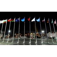 Buy cheap Stainless Steel Tapered Flag Pole Flagpole from wholesalers
