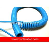 China Made UL Verified TPU Flexible Spiral Cable By High Purity Copper Conductor Manufactures