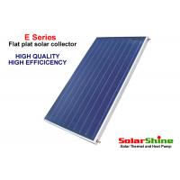 Wholesale Solar Power Flat Plate Solar Collector 1m X 2m High Density Polyurethane Insulation from china suppliers