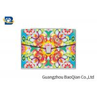 Buy cheap Customized 3D Lenticular Printing Service Plastic Folder Dividers Eco - Friendly Material from wholesalers