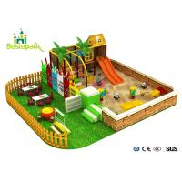 Wholesale Amazing Fun Infant Indoor Playhouse , Large Structure Indoor Play Zone from china suppliers
