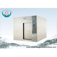China High Performance Sliding Door Large Steam Sterilizer With Overpressure Relief Valve on sale