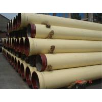 Wholesale ISO2531 K9 Ductile Iron Pipe Internal Polyurethane Coating Unit Length 6M from china suppliers