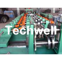 Buy cheap Auto Size Changeable C Z Shaped Purlin Roll Forming Machine With Gimbal Gearbox Drive from wholesalers