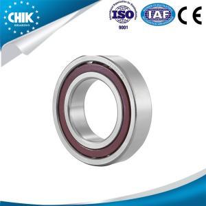 China Single Row Angular Contact Ball Bearings with ISO & CE Certification on sale