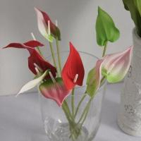 Buy cheap Real Touch PU Small Anthurium, 31cm Total Height from wholesalers