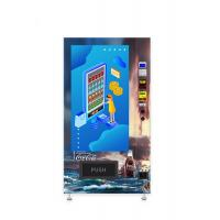 Buy cheap Self Service Chocolate Vending Machine Large Advertising Touchscreen Anti Theft from wholesalers
