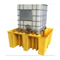 Buy cheap Strong Modified Plastic Spill Pallets , Drum Storage Spill Containment Pallets from wholesalers