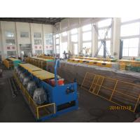 Automated Copper Wire Drawing Machine , Horizontal Welding Rod / Wire Nail Making Machine Manufactures