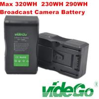 Vidego Camera Battery Li-ion Battery for Sony Anton Bauer Battery V Mount Battery /130wh/160wh/190wh/230wh/290wh/320wh Manufactures