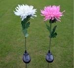 Buy cheap 1Led Solar Powered Garden LED Stake Lights, Chrysanthemum Solar Light Yard Decorations from wholesalers