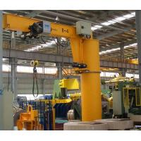 Buy cheap Pillar Column Mounted Jib Crane 500kg High Safety With Emergency Stop Function from wholesalers