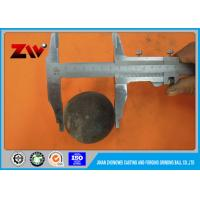 HRC 60-68 Forged Grinding Balls for Mining / Ball Mill High Hardness