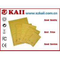Buy cheap 9 x 12 Envelopes Customised / 120g Brown Craft Paper Envelopes With Window from wholesalers