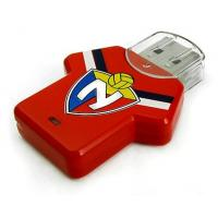 Buy cheap Football T-shirt Plastic USB Flash Drive, 16GB New Style Memory Stick from wholesalers
