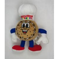 China Brown Cute Cookie Man Plush Toy Soft Stuffed Animal Customized on sale