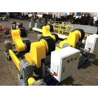 Buy cheap Heavy Duty Pipe Turning Rolls Simple Structure, 20T Self Aligning Pipe Rollers from wholesalers