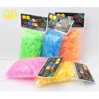 Buy cheap Tie dye Rainbow Loom Rubber Band Glow in the dark With Chuck Bag from wholesalers