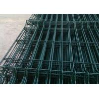 Buy cheap Durable Welded Wire Fence Q195 Steel Wire Raw Materials With Anti - Thief Post from wholesalers