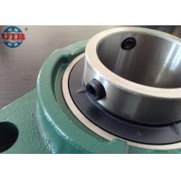 Buy cheap Pillow block bearing for food production line machine,chrome steel Gcr15 bearing, HT250 housing UCF207 from wholesalers