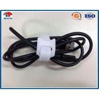 Buy cheap T Type Nylon Hook Loop cable ties reusable , heavy duty cable ties Logo Printing from wholesalers
