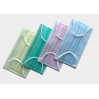 Buy cheap Ultra Soft Non Woven Face Mask Meltblown Filtration Layer Hypoallergenic Material from wholesalers
